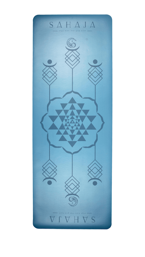 Sri Yantra II: Super Grip Travel Yoga Mat