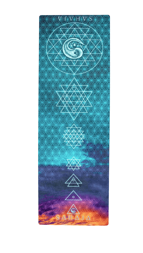 Sri Yantra I Travel Yoga Mat