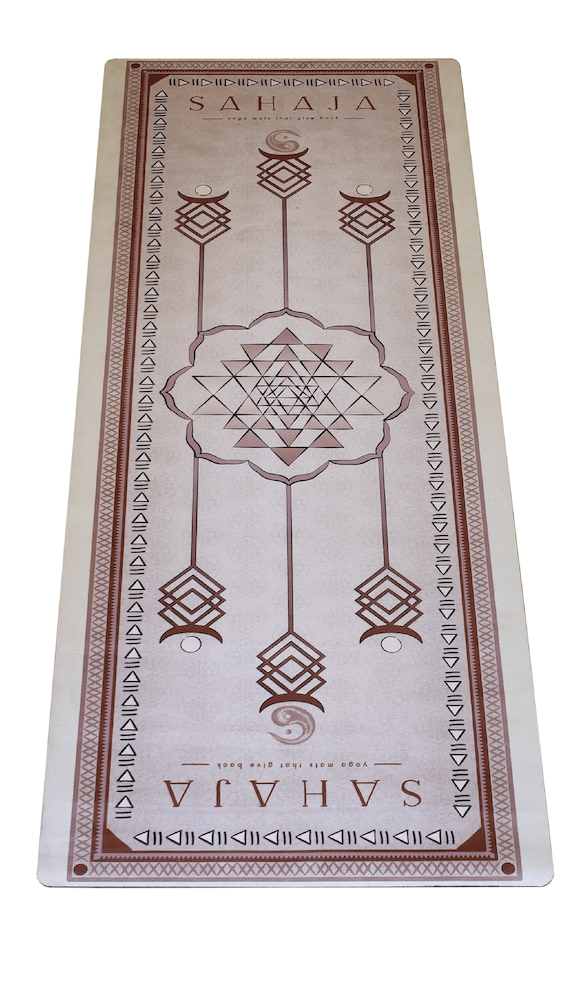 Sahaja Yoga Mats - Eco-friendly mats made from recycled materials.