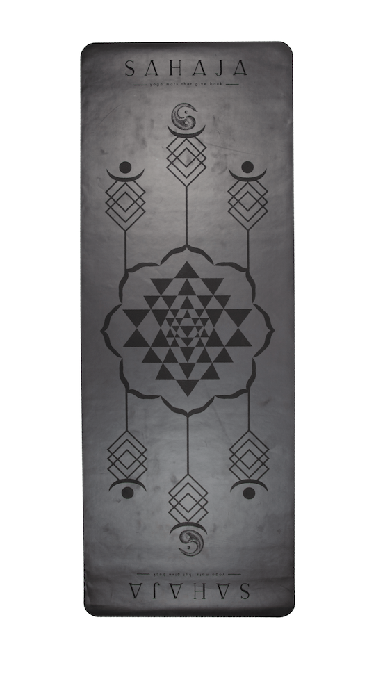 Sahaja Yoga Mats: Super grip yoga mat. Made from eco-polyutherene and tree rubber