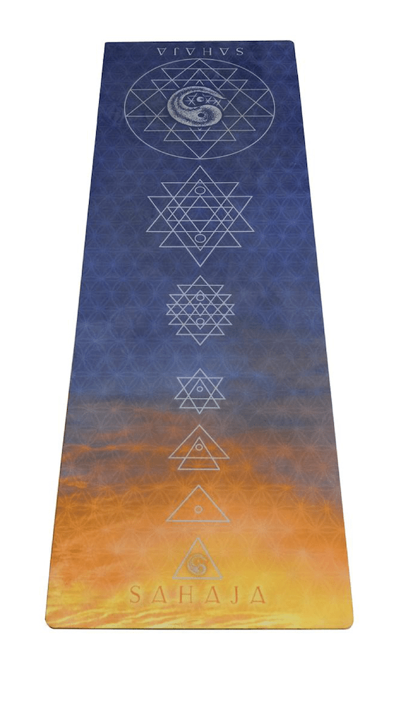 Sahaja Yoga mats that give back. Social enterprise created by a yogi to give to others.