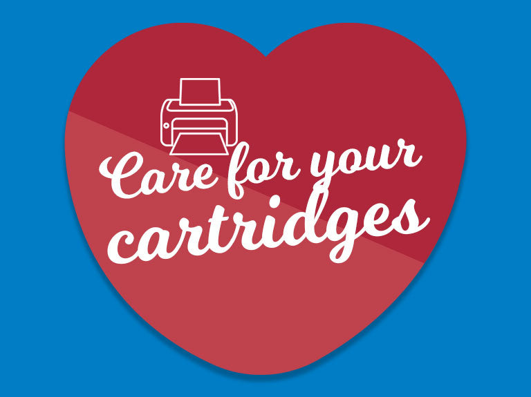 Caring for your printer cartridges