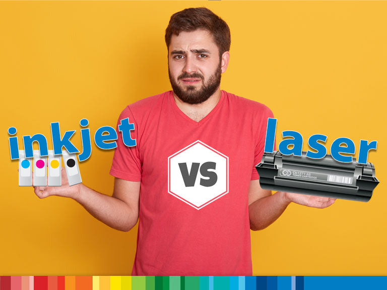 Inkjet vs. laser printing: Which should you choose?
