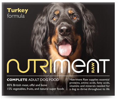 Nutriment Turkey Formula for Adult Dogs, 500g