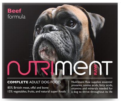 Nutriment Beef Formula for Adult Dogs, 1.4kg