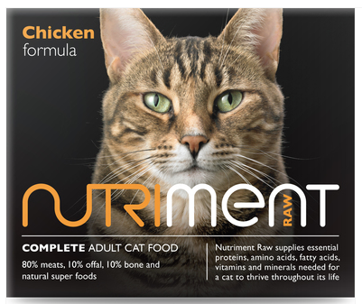 Nutriment Cat Range - Chicken 500g