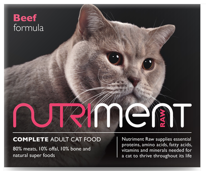 Nutriment Cat Range - Beef 500g