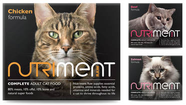 Nutriment Cat Range - Value Pack 10 x 500g
