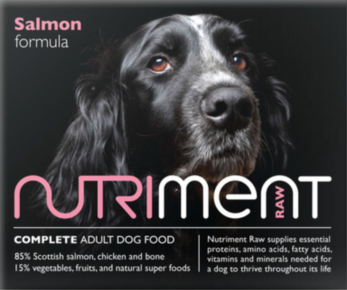 Nutriment Salmon Formula for Adult Dogs, 500g