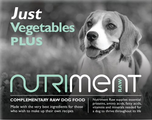 Nutriment Just Vegetables Plus 500g