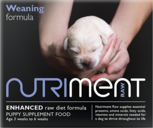 Nutriment Weaning Paste - 3 to 6 weeks, 500g