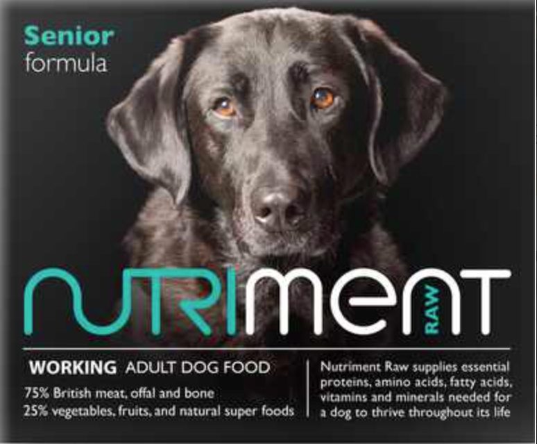Nutriment Senior Formula for Dogs, 500g