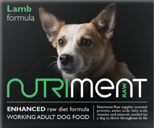 Nutriment Lamb Formula for Adult Dogs, 500g