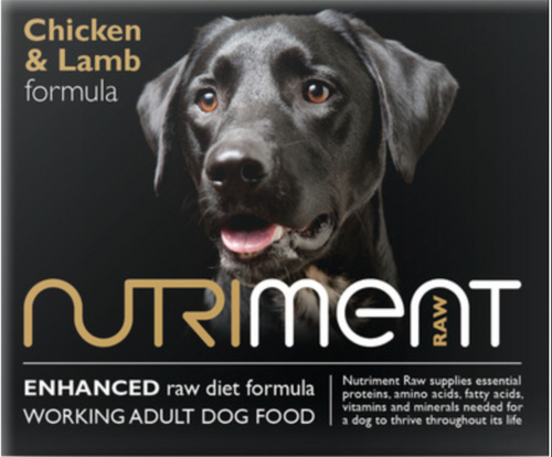 Nutriment Dog Formula Chicken & Lamb 500g