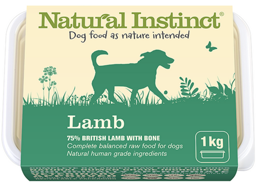 Natural Instinct Lamb 1kg