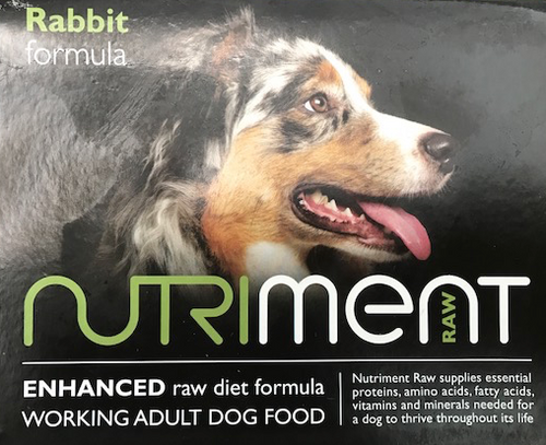 Nutriment Rabbit Formula for Adult Dogs, 500g