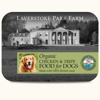 LAVERSTOKE Organic Chicken and Tripe 500g