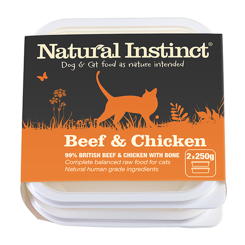 CAT Beef and Chicken 2 x250g