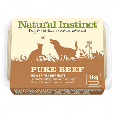 Natural Instinct Pure Beef 1kg
