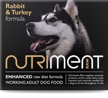 Nutriment Rabbit and Turkey 500g