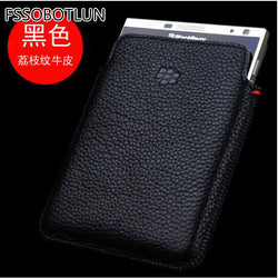 Factory price,Luxury Genuine Leather Case For Blackberry Passport Q30 Pouch Bag Sleeve Cover With Smart Sleep function