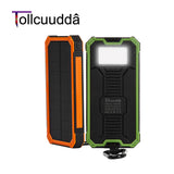 Tollcuudda Solar Poverbank Phone For Xiaomi Iphone Power Bank Charger Battery Portable Mobile Pover Bank Mi Powerbank 10000mah