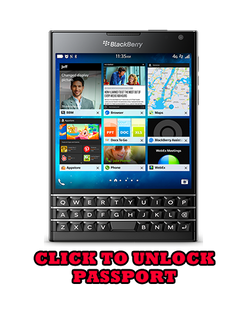 Unlock Blackberry Passport