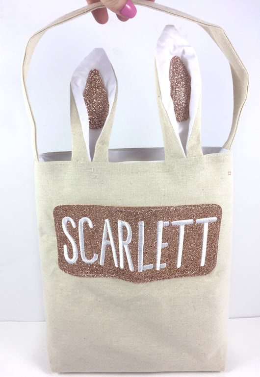 Clearance Personalised Easter Bags