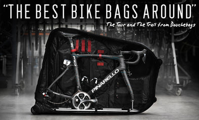 """The Best Bike Bags Around"" - The Tour and The Trail, Douchebags"
