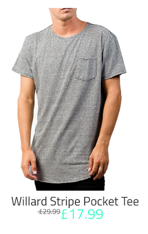 NEFF Willard Stripe Tee