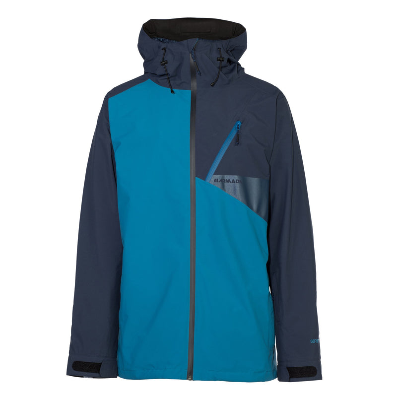 Armada Chapter Gore-Tex Jacket - Blue - Front View
