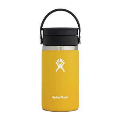 12 oz Coffee Wide Mouth with Flex Sip Lid - Sunflower