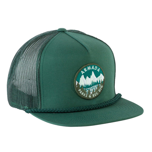 Armada Safety First Hat - Spruce - Front View