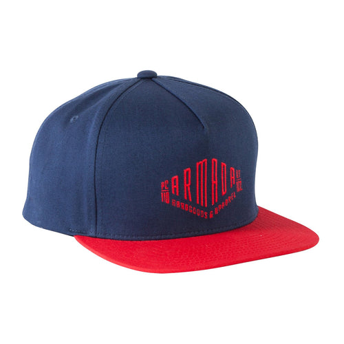 Armada Club Crew Hat - Navy - Front View