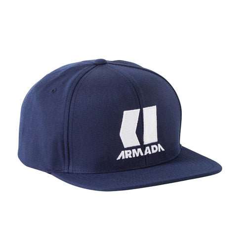 Armada Standard Hat - Navy - Front View