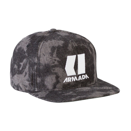 Armada Standard Hat - Black Wash - Front View