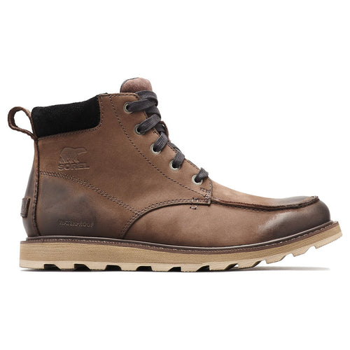 ${brand_name} Sorel Madson Moc Toe Waterproof Mens Boot  {product_type}