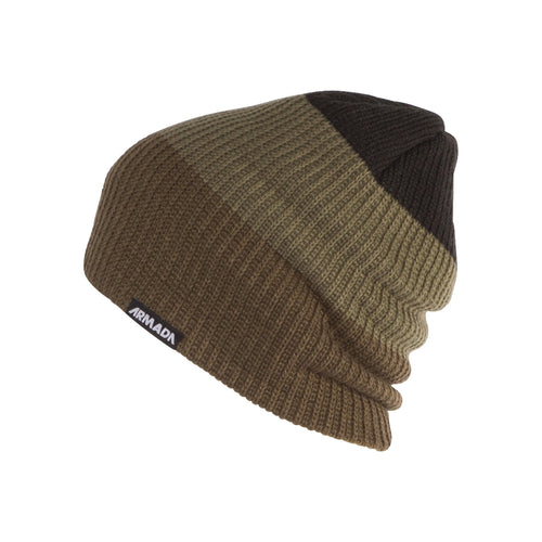 Armada Triax Beanie - Burnt Olive - Front View
