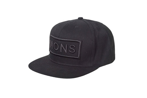 Mons-Royale-Merino-Connor-Cap-Box-Logo-Black-front-ghost