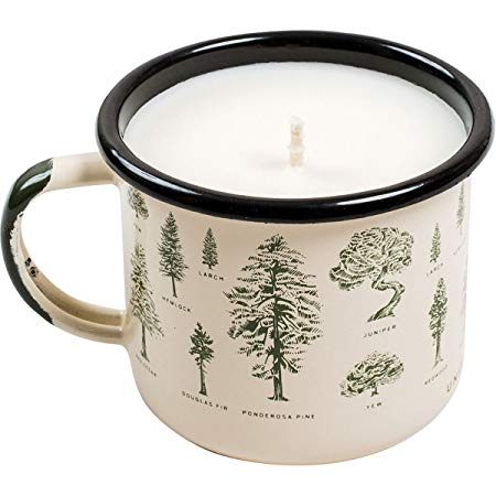 Evergreen Enamel Candle Mug - futureproof-life