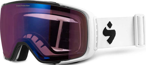 ${brand_name} Sweet Protection Interstellar Snow Goggle Satin White with RIG Amethyst Lens Satin White/Amethyst {product_type}