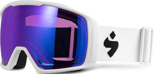 Sweet Protection Clockwork Snow Goggle Satin White RIG Sapphire - futureproof-life
