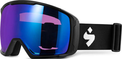 Sweet Protection Clockwork MAX Snow Goggle Matte Black RIG Sapphire - futureproof-life