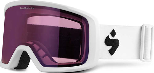 Sweet Protection Firewall Snow Goggle Satin White with RIG Amethyst - futureproof-life