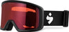 Sweet Protection Firewall Snow Goggle Matte Black Satin Sapphire - futureproof-life