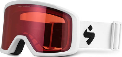 Sweet Protection Firewall Snow Goggle Satin White Satin Ruby - futureproof-life