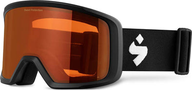 Sweet Protection Firewall Snow Goggle Matte Black with Orange Lens - futureproof-life