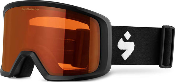 Sweet Protection Firewall Snow Goggle Matte Black with Obsidian Lens - futureproof-life