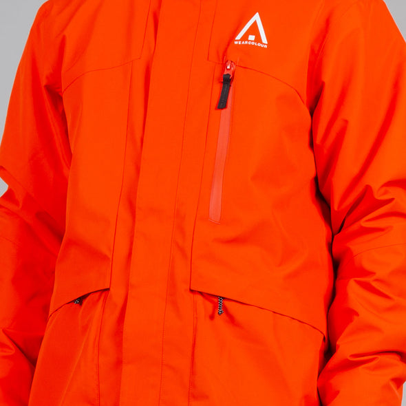 Wearcolour Ace Jacket - Coral - FW2021 Sample