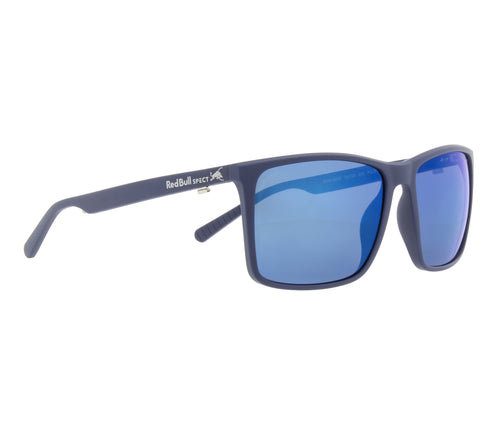 Red Bull SPECT Bow Sunglasses Blue/Smoke with Blue Mirror Polarised - futureproof-life